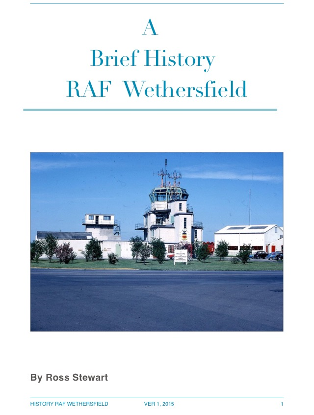A Brief History of RAF Wethersfield